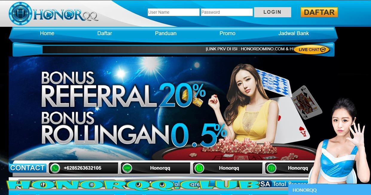 HonorQQ Situs Agen BandarQ